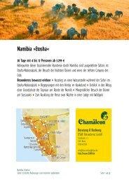 Namibia »Etosha«