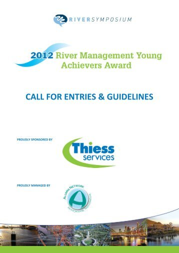 RMYAA Call for Entries - International Riversymposium