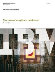 the_value_of_analytics_in_healthcare