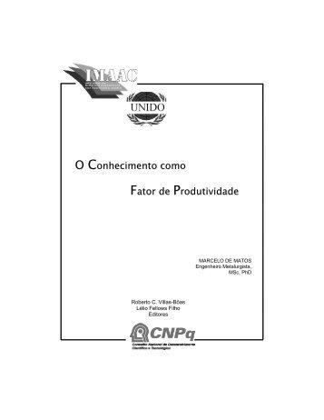 MARCELO DE MATOS - Cetem