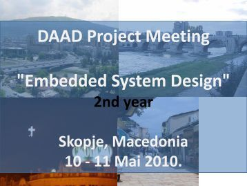 "DAAD Project Meeting ""Embedded System Design"""