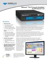 Summit T24 Datasheet - Teledyne LeCroy