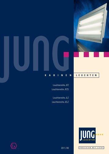 Datenblatt zu den JFZ-Leuchten downloaden. - Jung Leuchten GmbH