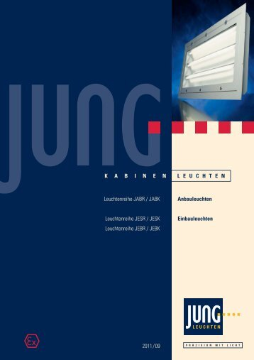 Datenblatt zu den JABR-Leuchten downloaden. - Jung Leuchten ...