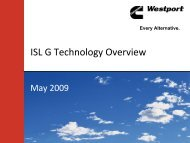 ISL G Technology Overview