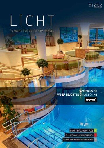 Sonderdruck für WE-EF LEUCHTEN GmbH & Co. KG