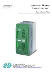 CD3000S-2PH Thyristor Unit - CasCade Automation Systems BV