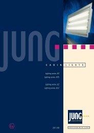Download the JFZ lights data sheet. - Jung Leuchten GmbH