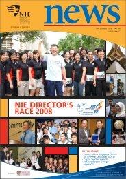 nie race 2008 director's - NIE Digital Repository - National Institute of ...
