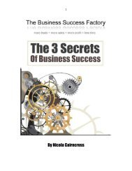 download it - The Business Success Factory