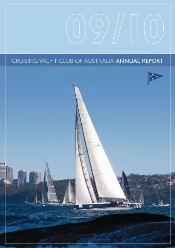 2009/10 Annual Report - Cruising Yacht Club of Australia