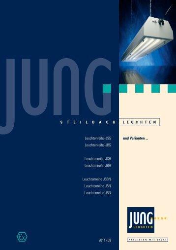 Datenblatt zu den Steildach-Leuchten downloaden.