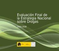 Evaluación Final de la Estrategia Nacional sobre Drogas 2000-2008