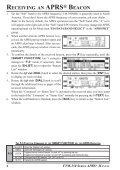 ftm-350 series aprs manual - Page 4