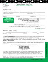 Program Registration Form - Girl Scouts of Central Illinois