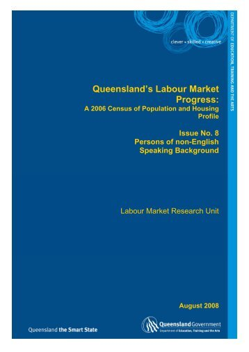 Persons of non-English Speaking Background - Training Queensland
