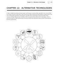 CHAPTER 12: ALTERNATIVE TECHNOLOGIES