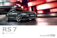 Produktflyer laden - Audi