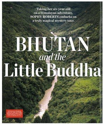 Departures Bhutan - Sophy Roberts