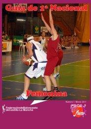 La Guía de Primera Nacional Femenina - Federación de Baloncesto ...