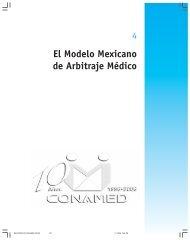 Capítulo 4 - Comisión Nacional de Arbitraje Médico