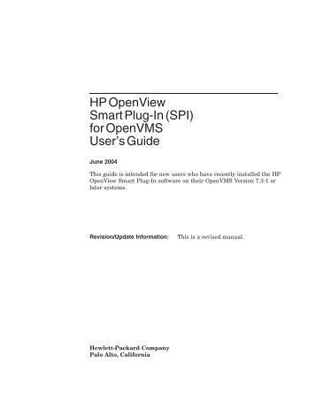 Hp pascal For Openvms User manual