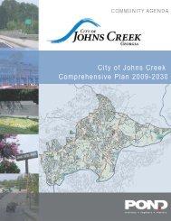 Community Assessment, Executive Summary - City of Johns Creek