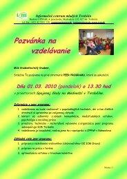 Informačné centrum mladých Orava