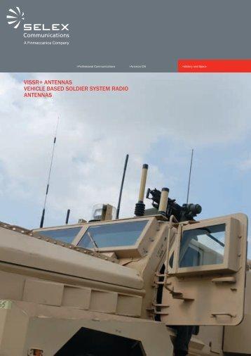 VISSR+ ANTENNAS VEHICLE BASED SOLDIER SYSTEM RADIO ...
