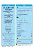 vox pediatriae 6/2007 - Dětský lékař - Page 3