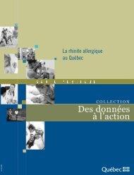 La rhinite allergique au Québec - Gouvernement du Québec