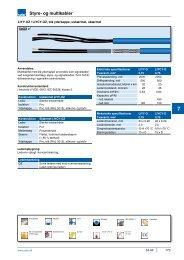 Styre- og multikabler - Solar Danmark A/S