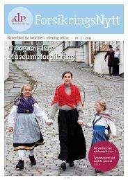ForsikringsNytt nr 1/2012 (pdf) - KLP