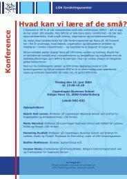 Invitation til skærm.indd - LOK forskningscenter - CBS