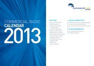 2013 Commercial Radio Station Map - PDF