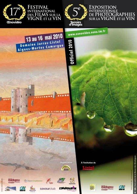 13 au 16 mai 2010 - Festival international de films sur la vigne et le ...