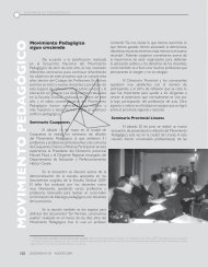 Noticias del Movimiento Pedagógico - Revista Docencia