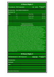 15. SV Lechbruck - TSV Friesenried 1