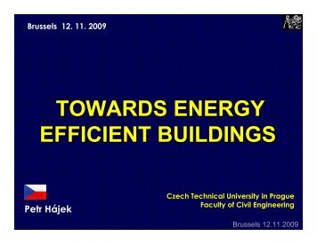 TOWARDS ENERGY EFFICIENT BUILDINGS - PolSCA