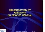 Organisation et missions du service médical de la CPAM - ammppu