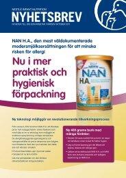 Nyhetsbrev oktober 2011 - Nestlé Nutrition