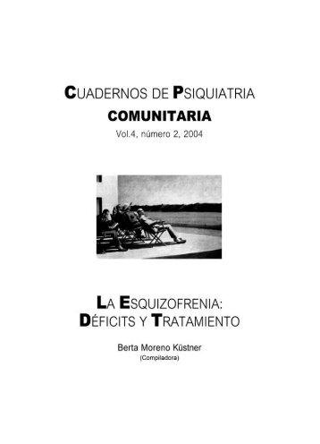 Vol 4. Nº 2. 2004 - Asociación Española de Neuropsiquiatría