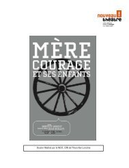 Mère Courage - Mission TICE