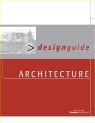 Design Guide - Architecture - Housing New Zealand