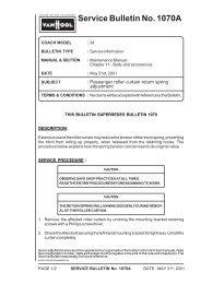 Service Bulletin No. 1070A - ABC Companies