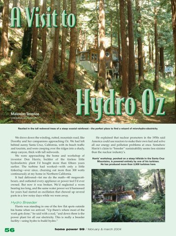 A Visit to Hydro Oz - Equal Parenting-BC