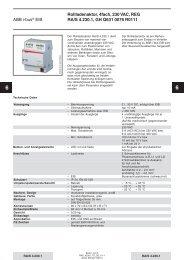 ABB i-bus® EIB Rollladenaktor, 4fach, 230 VAC ... - Eibmarkt.com