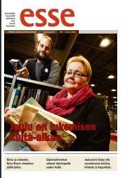 Esse 50/2011 pdf - Espoon seurakuntasanomat