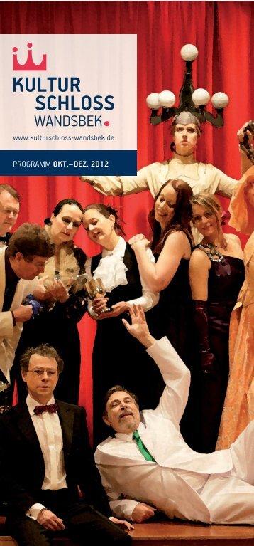 PROGRAMM OKT.–DEZ. 2012 - Kulturschloss Wandsbek
