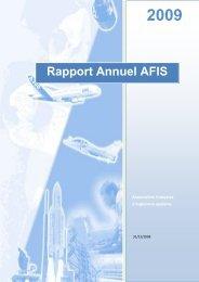 RapportAnnuel09_Ed1_0 - AFIS - Association Française d ...